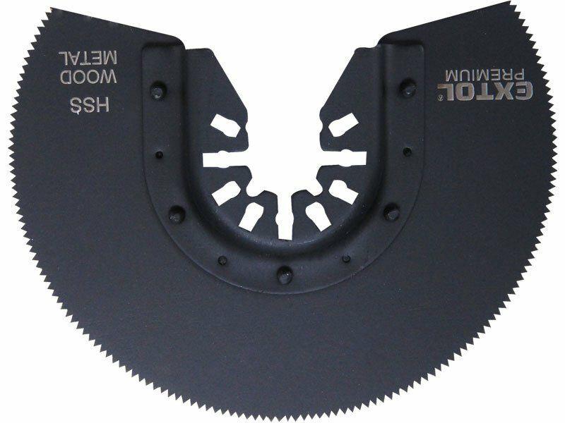 Kotouč segmentový pilový na kov, 88mm, HSS, EXTOL PREMIUM 8803856