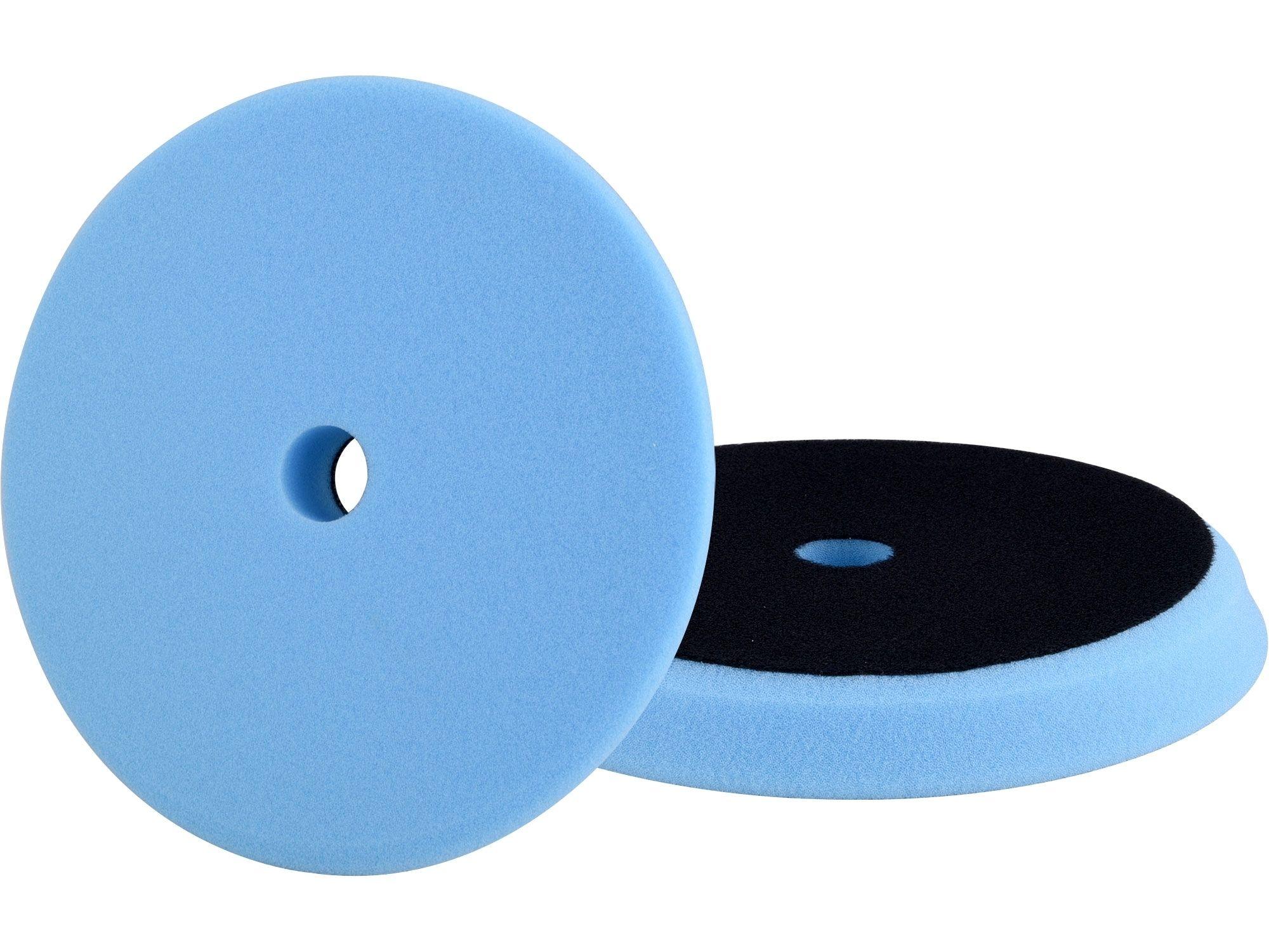 Kotouč leštící pěnový, orbitální, T60, modrý, ?150x25mm, suchý zip ?127mm EXTOL PREMIUM