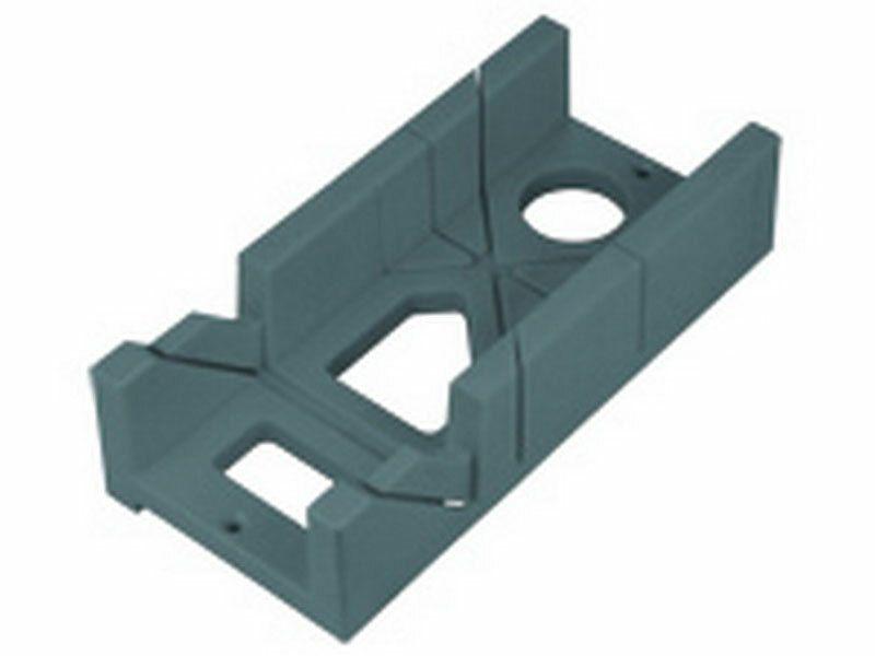 Přípravek na řezání úhlů plastový, 300x140x70mm, úhly řezu 45° a 90° EXTOL-PREMIUM