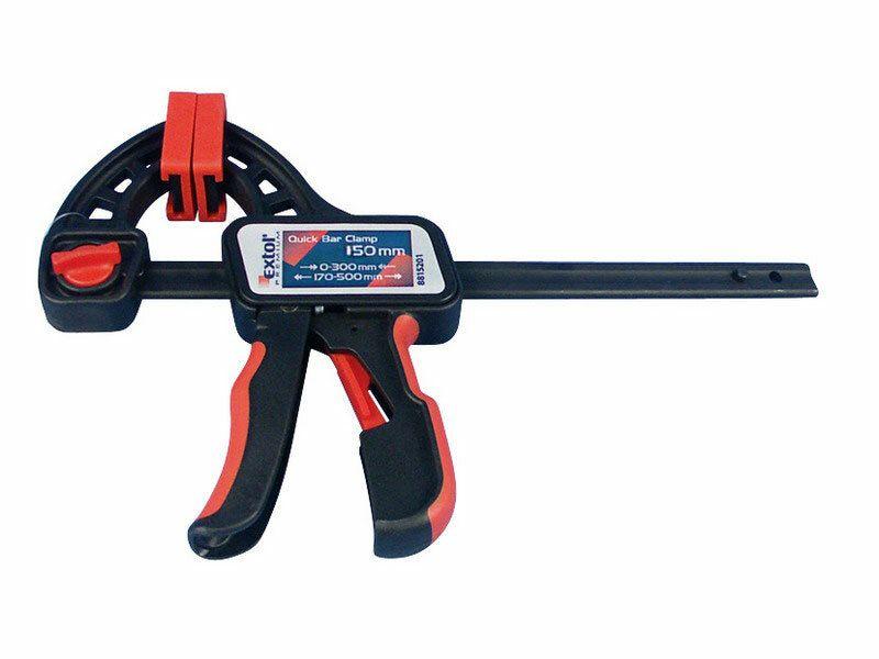 Svěrka rychloupínací, 450mm, rozevření: 170-600mm, EXTOL PREMIUM