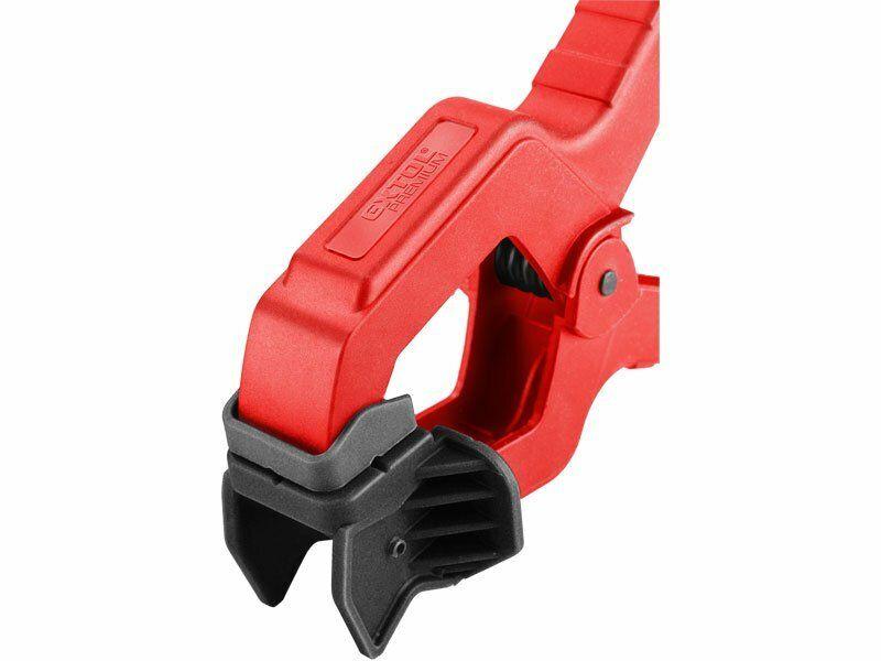Svorka pružinová plastová 3 v 1, 155mm, max. rozevření čelistí 50mm, nylon EXTOL-PREMIUM