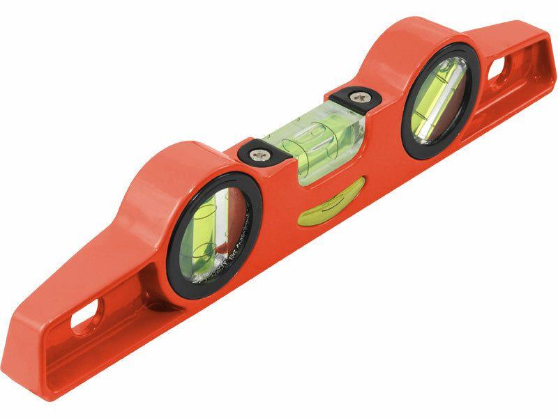 Vodováha kovová s magnety, 250mm, přesnost 1mm/1m, 3 libely 0°, 45° a 90°, EXTOL PREMIUM EXTOL-PREMIUM