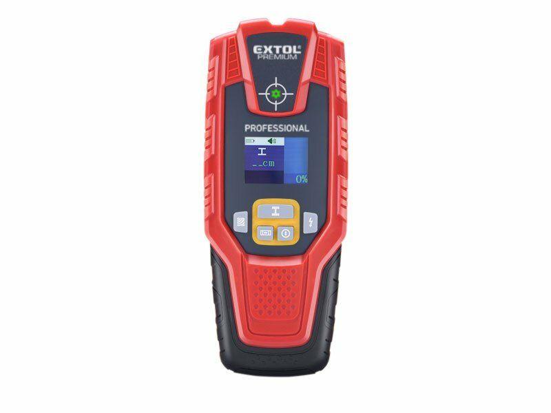 Digitální detektor s displejem k detekci skytých kovů, Extol Premium EXTOL-PREMIUM