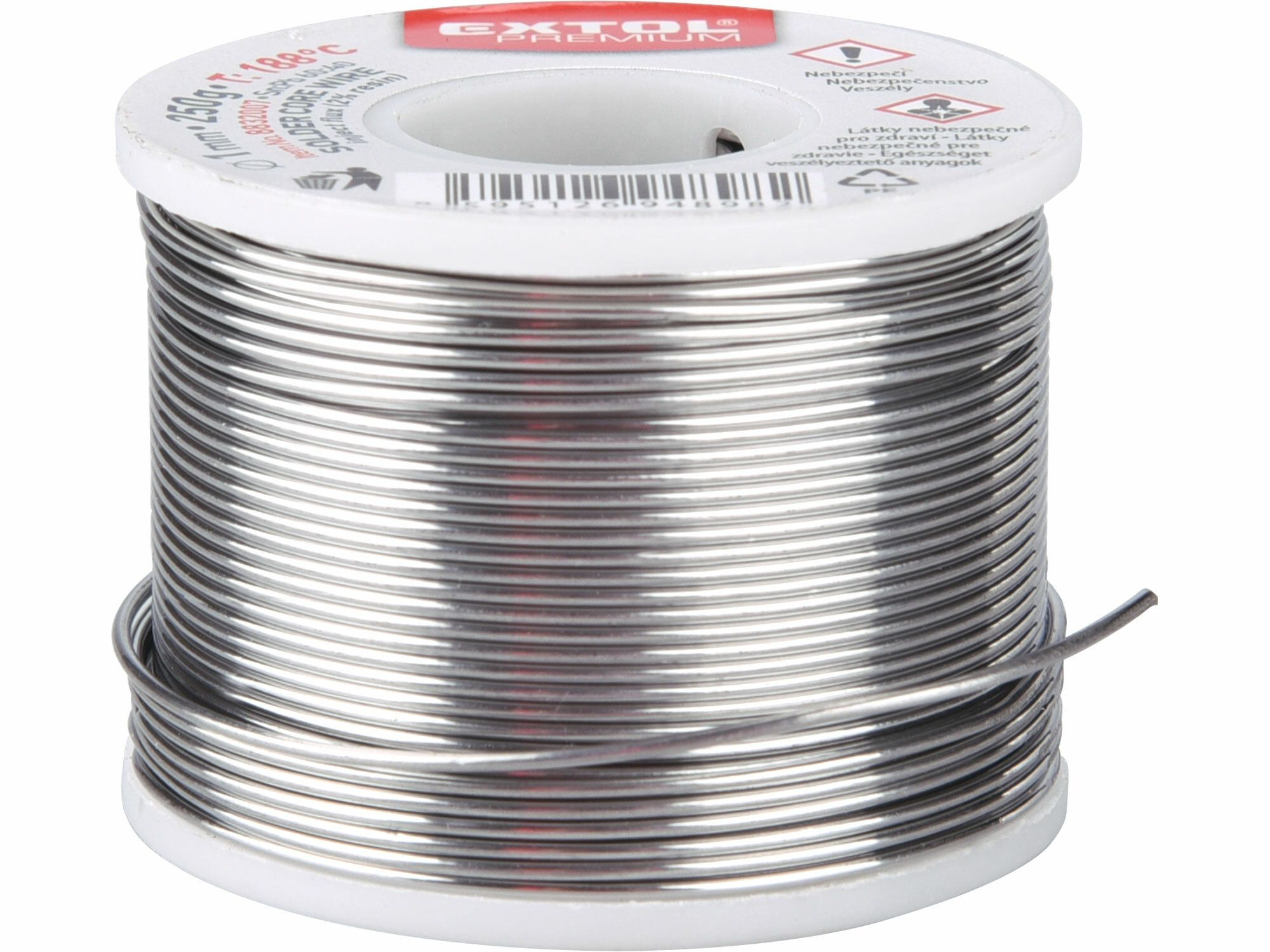 Drát pájecí trubičkový Sn60/Pb40 EXTOL PREMIUM