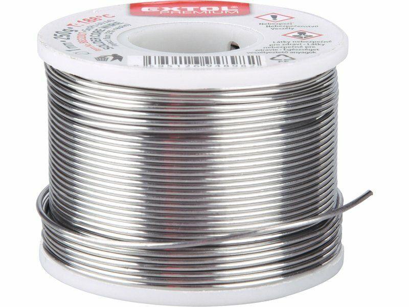 Drát pájecí trubičkový Sn60/Pb40 EXTOL PREMIUM 8832007