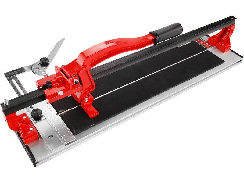 Řezačka obkladů, 600mm, rozměr základny 810x200x25mm, hmotnost 6,8kg, EXTOL PREMIUM