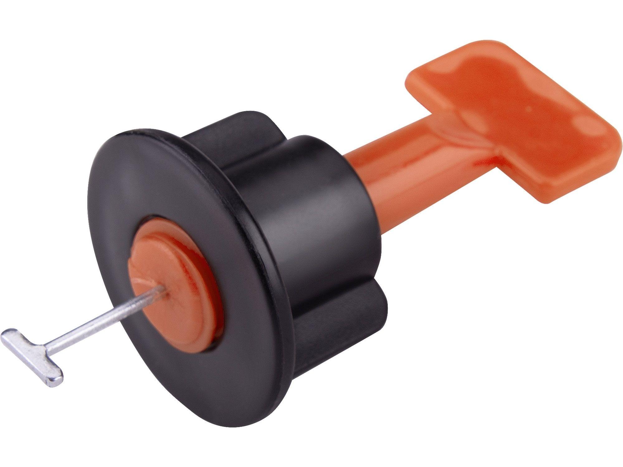 Distanční/nivelační klipy opakovaně použitelné, sada 50ks, pro vyrovnání obkladů/dlažby EXTOL-PREMIUM