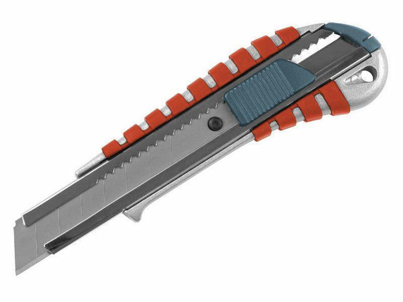 Nůž ulamovací kovový s kovovou výztuhou, 18mm EXTOL-PREMIUM