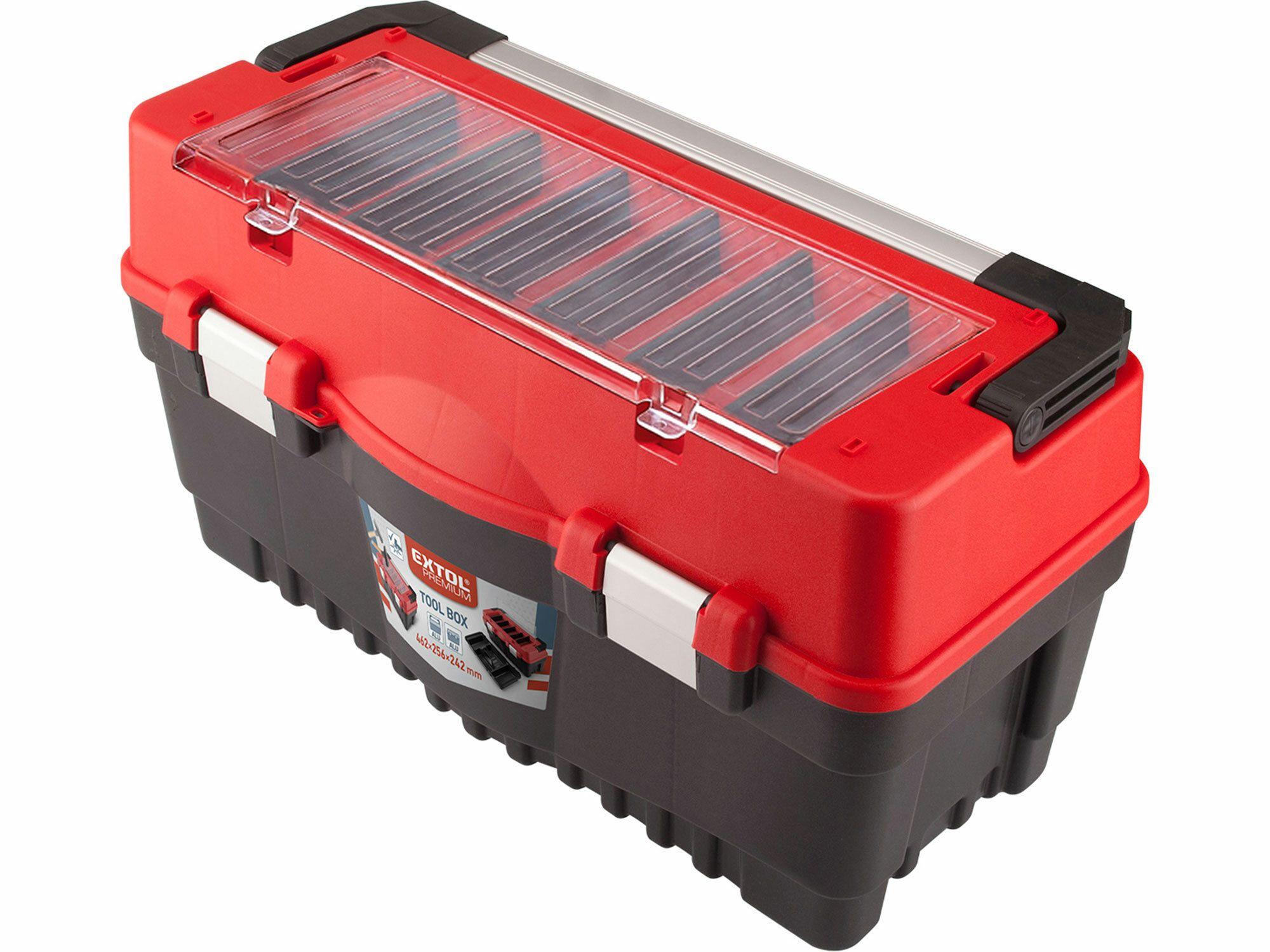 Kufr na nářadí CARBO vel. L, 595x289x328mm EXTOL-PREMIUM