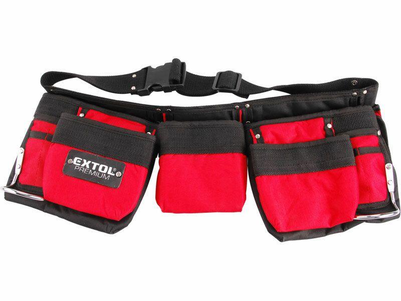 Pás na nářadí, 7 kapes (2 velké, 3 střední, 2 malé), nylon, EXTOL PREMIUM