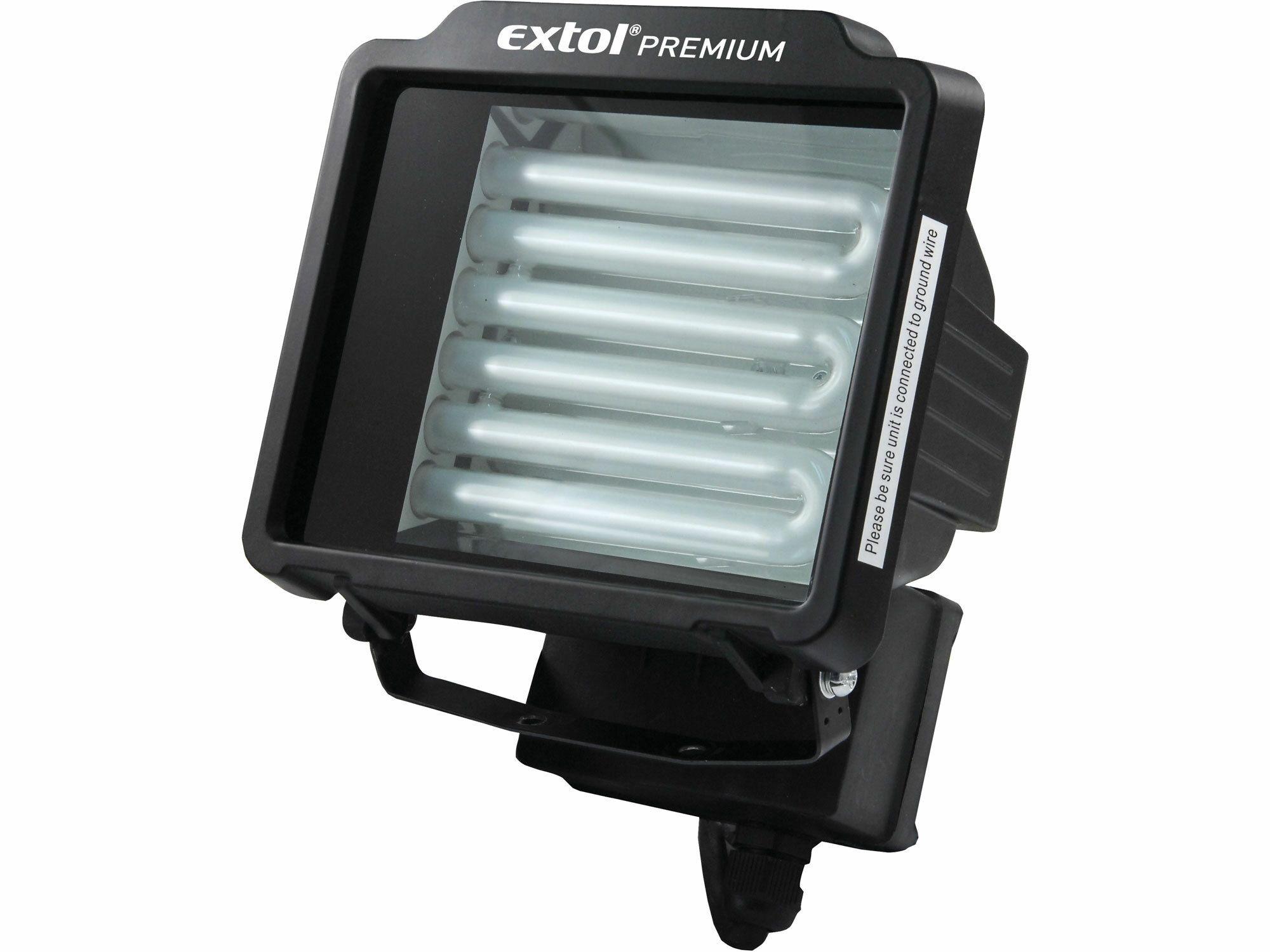 Světlo s úspornou zářivkou přenosné, 32W, bez podstavce a kabelu, EXTOL PREMIUM