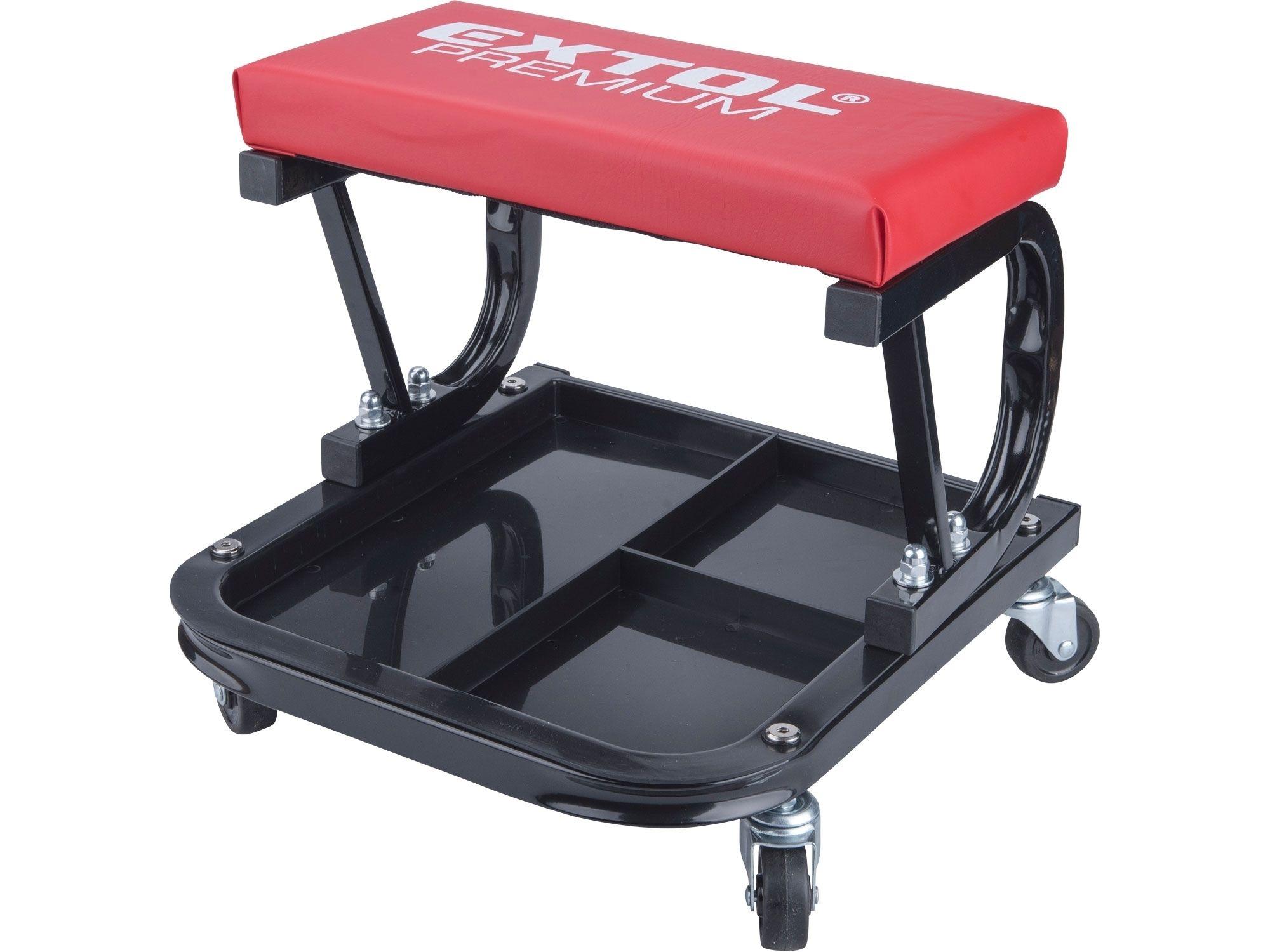 Sedák montážní pojízdný, nosnost do 120kg EXTOL-PREMIUM