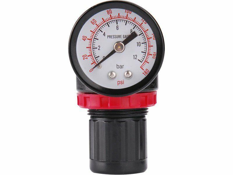 Regulátor tlaku s manometrem, max. prac. tlak 8bar (0,8MPa) EXTOL-PREMIUM