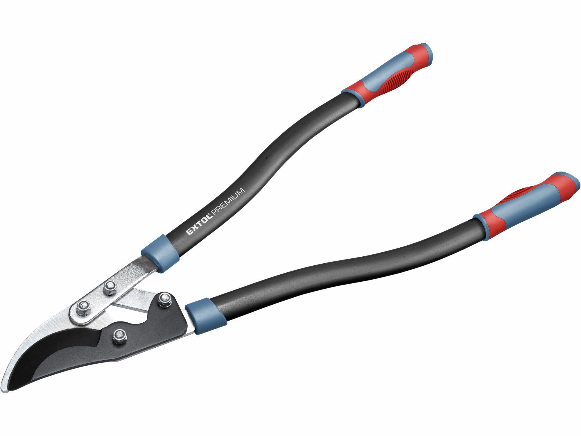 Nůžky na větve převodové dvousečné, 730mm, HCS, stříhání větví do pr. 45 mm EXTOL-PREMIUM
