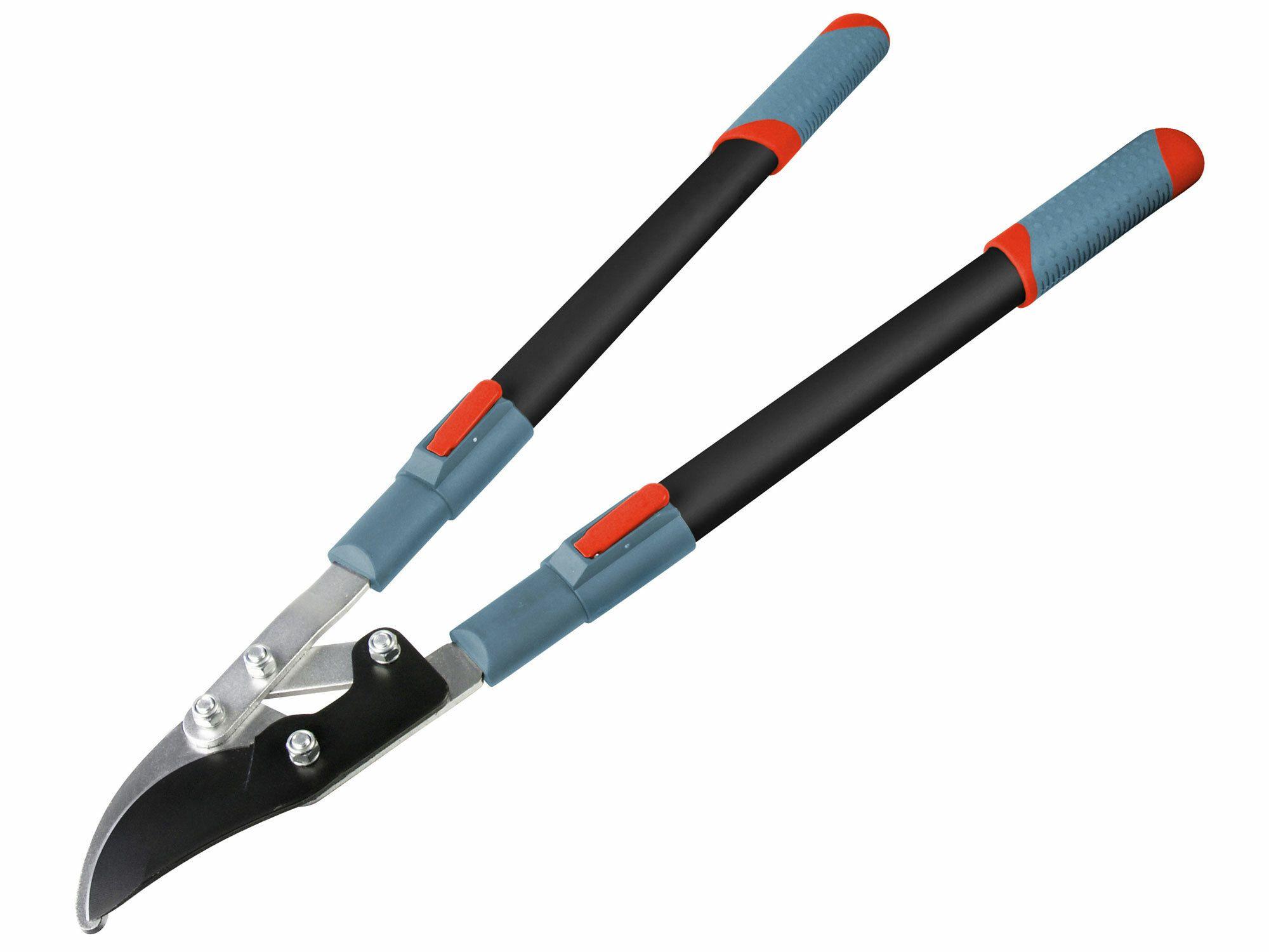 Nůžky na větve teleskopické převodové dvousečné, 700-1000mm, EXTOL PREMIUM