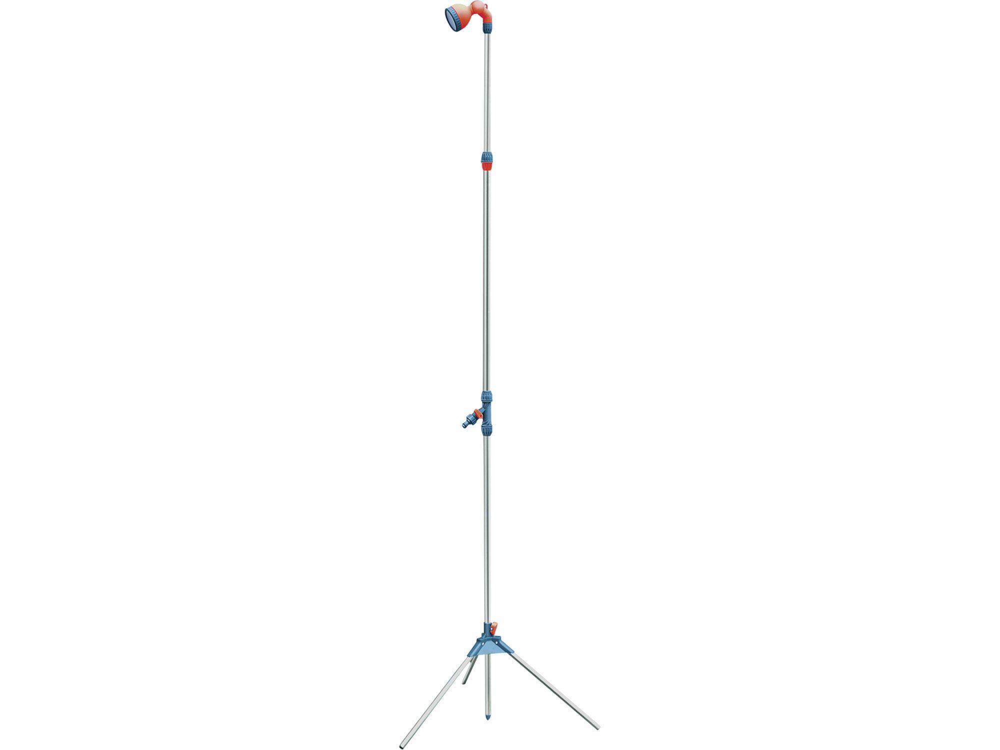Sprcha zahradní teleskop. se stojanem, 160-220cm, ABS,hliník, EXTOL PREMIUM
