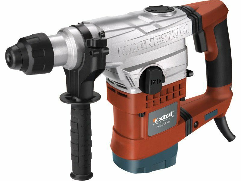 Kladivo vrtací, SDS plus, 1100W, 6J, 13mm, EXTOL PREMIUM, PHD 6 SP MG, 8890206