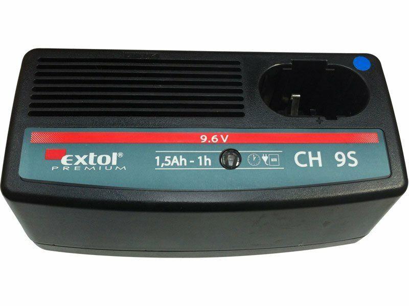 Nabíječka, 1hod. 9,6V EXTOL-PREMIUM