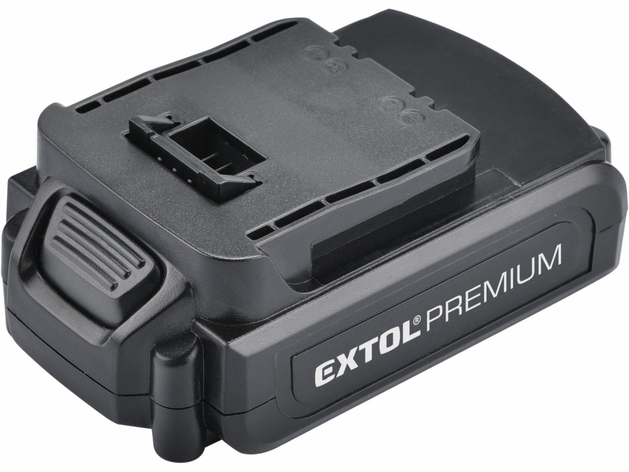 Baterie akumulátorová 18V, Li-ion, 1500mAh, EXTOL PREMIUM
