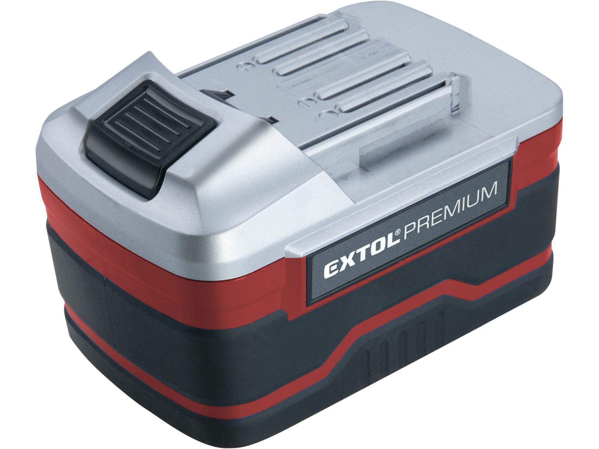 Baterie akumulátorová 18V, Li-ion, 3000mAh, pro 8891220, 8891110, a další, EXTOL PREMIUM