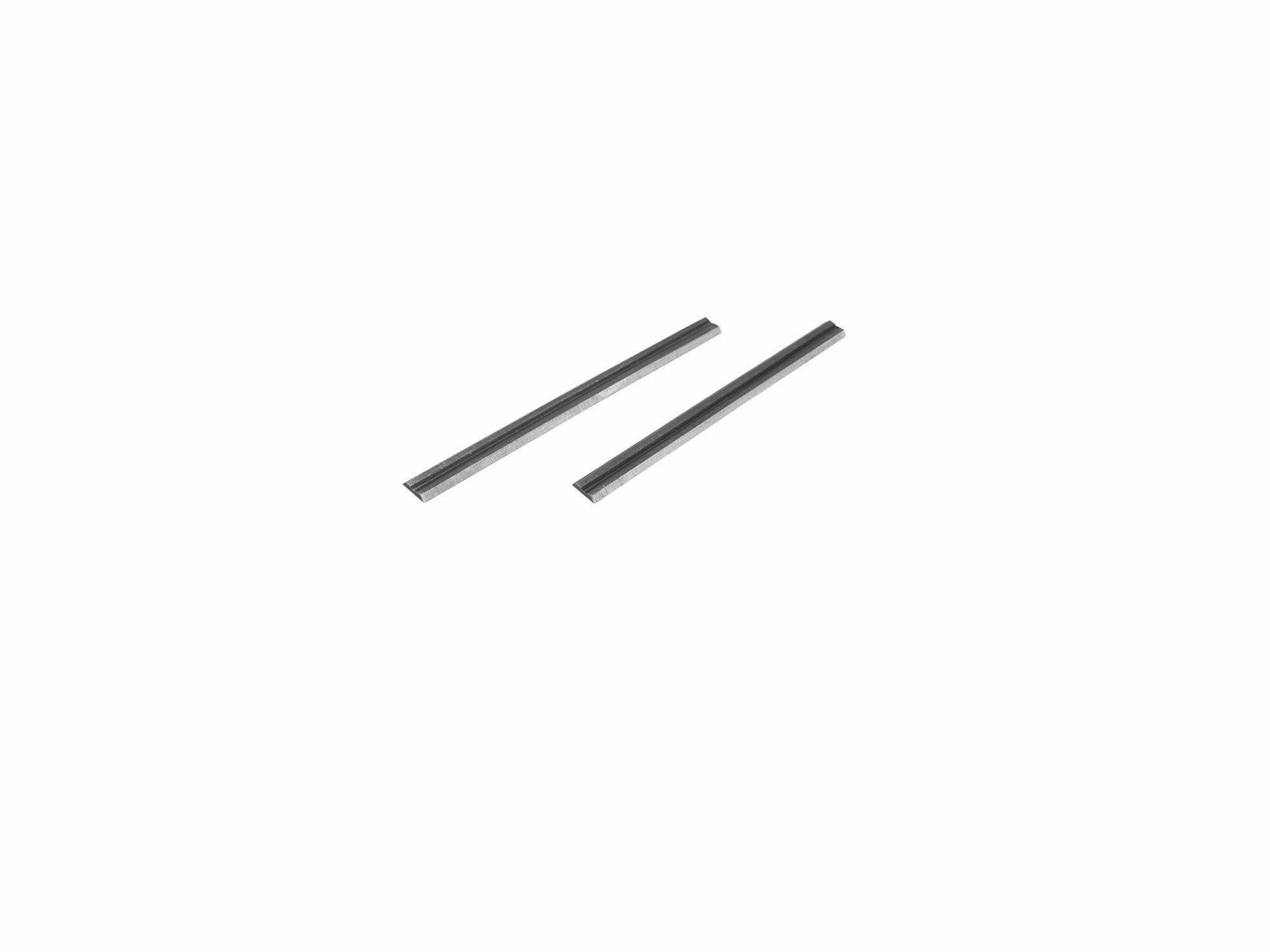 HSS hoblovací nože 2ks, 82x5,7x1mm, pro 8893402, EXTOL PREMIUM