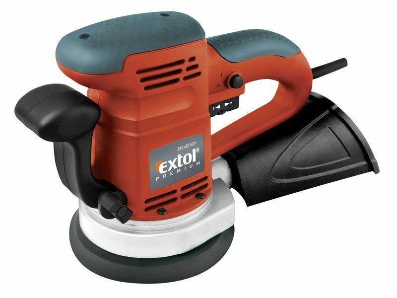 Bruska vibrační excentrická, 450W, 125 a 150mm, EXTOL PREMIUM, ERC 450 SCP, 8894202