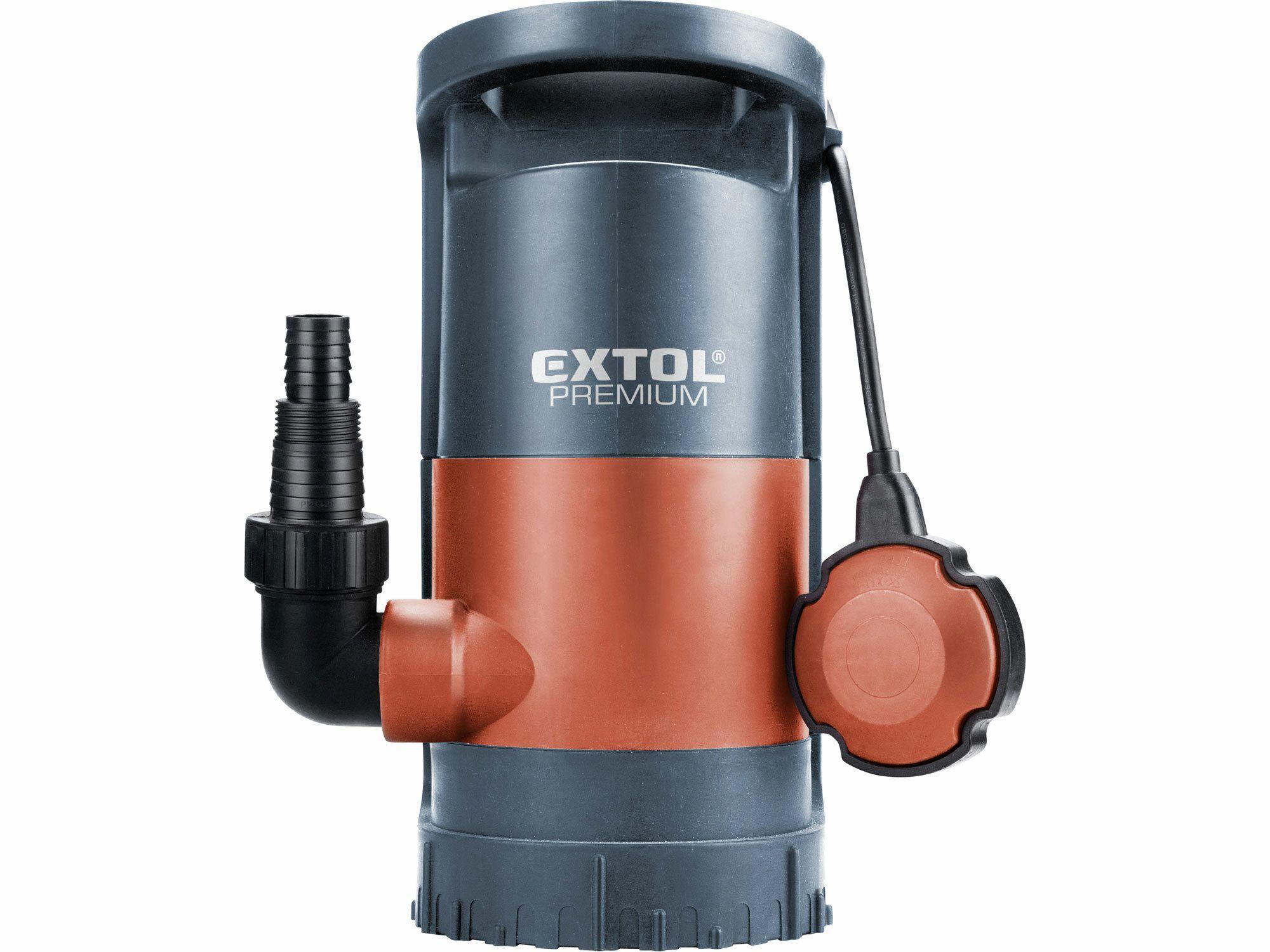 Čerpadlo na znečištěnou vodu 3v1, 900W, 13000l/h, 10m, EXTOL PREMIUM, SP 900, 8895013