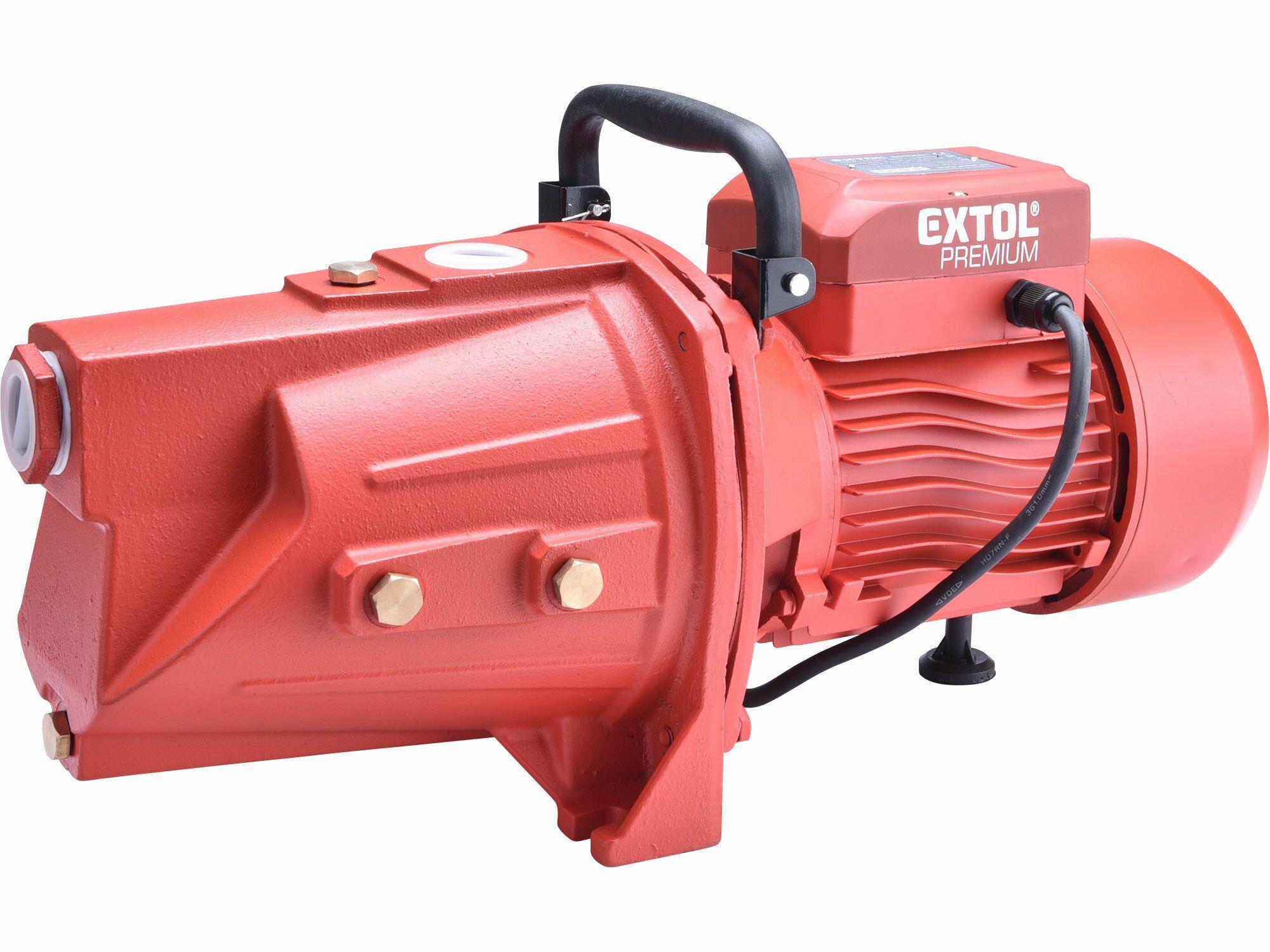 Čerpadlo proudové, 1100W, 9500l/hod, EXTOL PREMIUM, 8895081 EXTOL-PREMIUM