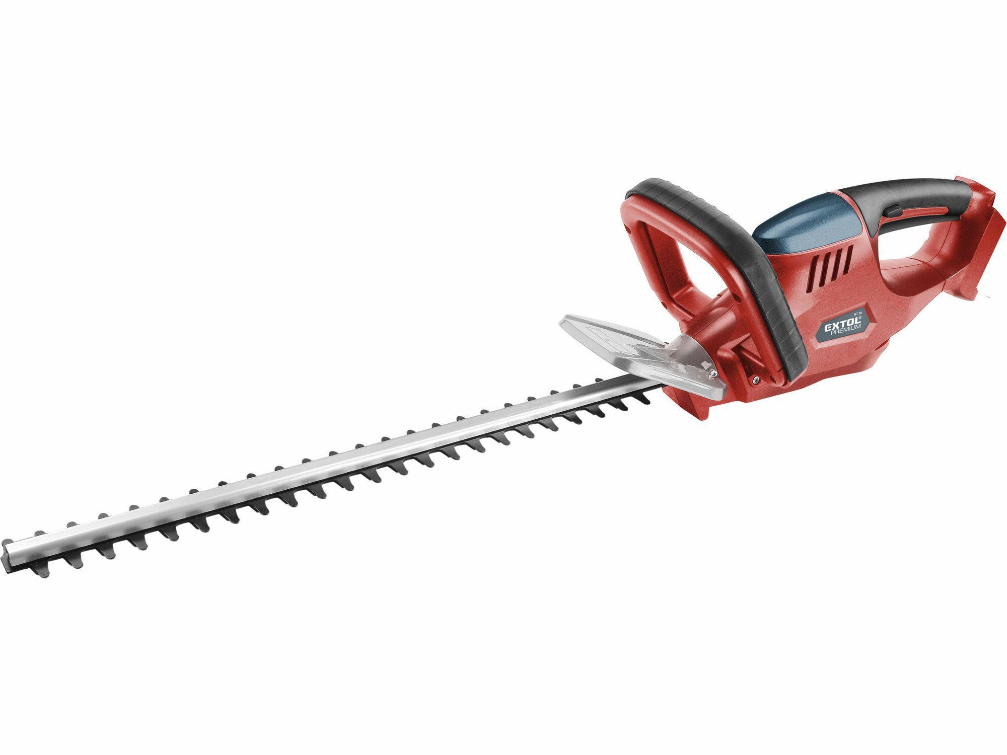 Nůžky na živé ploty aku, bez baterie a nabíječky, 18V, 1500mAh, EXTOL PREMIUM 8895601
