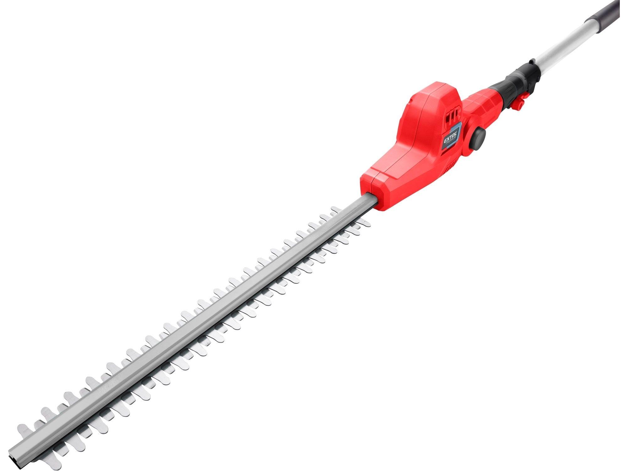 Nůžky na živé ploty aku, teleskopické 2,78m, 20V Li-ion, bez baterie a nabíječky EXTOL-PREMIUM