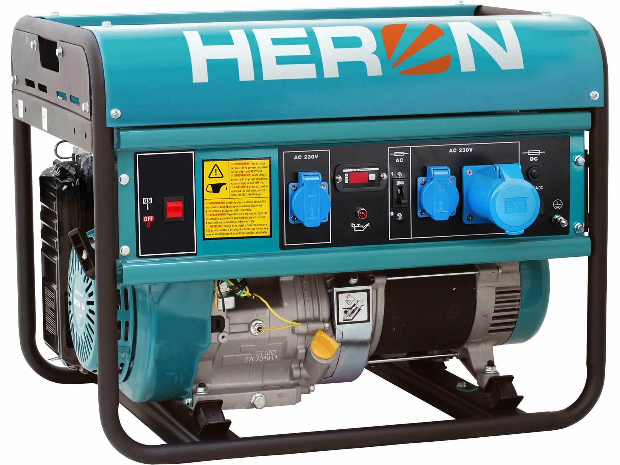 Elektrocentrála benzínová 15HP, 7,0kW, HERON, EGM 68 AVR-1, 8896119, záruka 3 roky