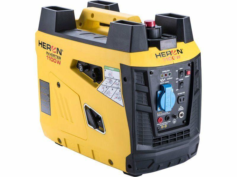 Elektrocentrála digitální invertorová 1,8HP/1,1kW, HERON, 8896218