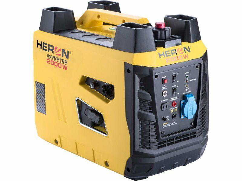Elektrocentrála digitální invertorová 3,3HP/2kW HERON