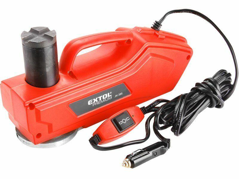 Zvedák hydraulický elektrický, 180W, 12V DC, max. 1000kg, EXTOL Premium JH385, 8897203
