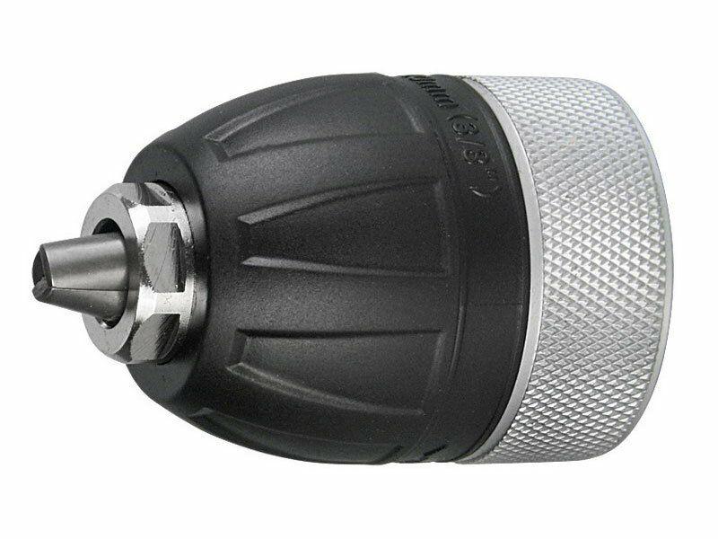 """Hlava rychloupínací sklíčidlová. 0.8-10mm. závit 3/8""""-24UNF EXTOL-PREMIUM"""