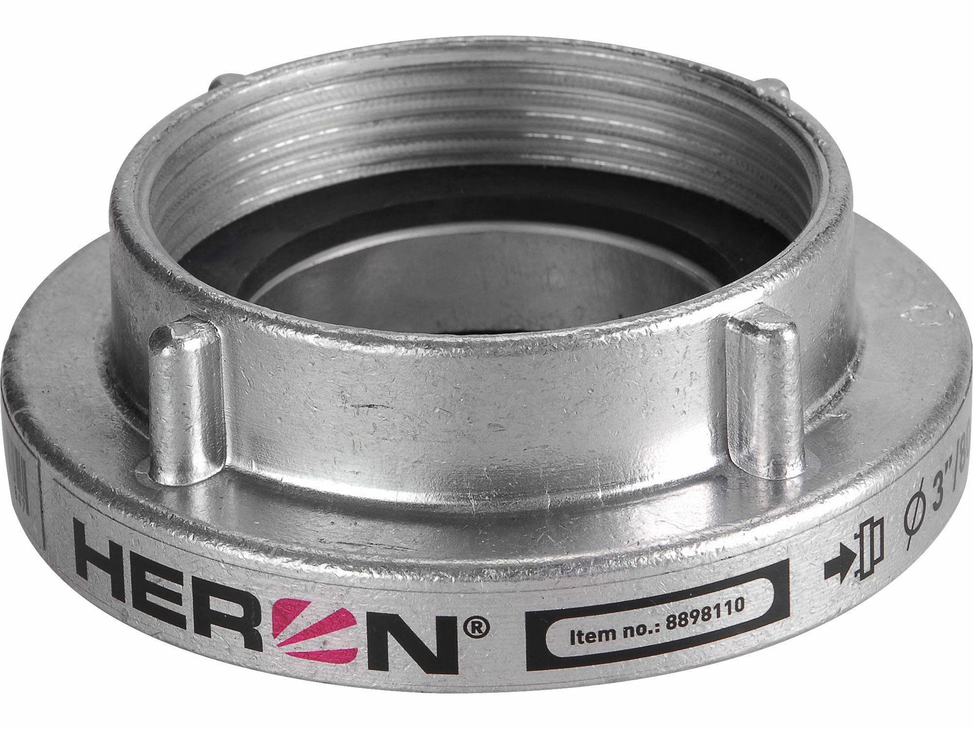 """Spojka B75 pevná vnitřní závit W tlakové/sací těsnění, 3"""" (80mm), pro 8895105, HERON"""