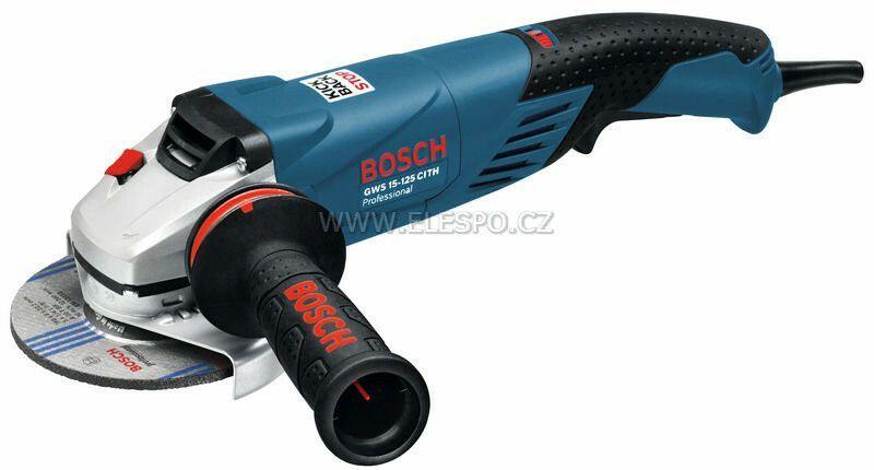 Malá úhlová bruska Bosch GWS 15-125 CITH Professional, 1.500 W, 0601830427