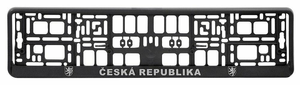 Podložka pod SPZ CHROM ČR 3D COMPASS