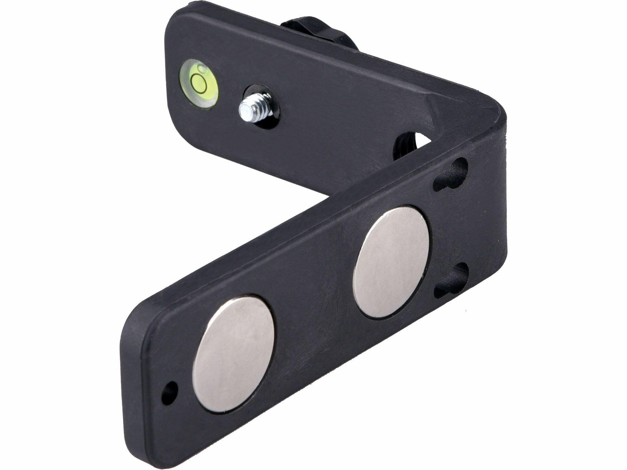 """Držák L-typ magnetický na laser/kameru, 1/4"""" šroub EXTOL-CRAFT"""