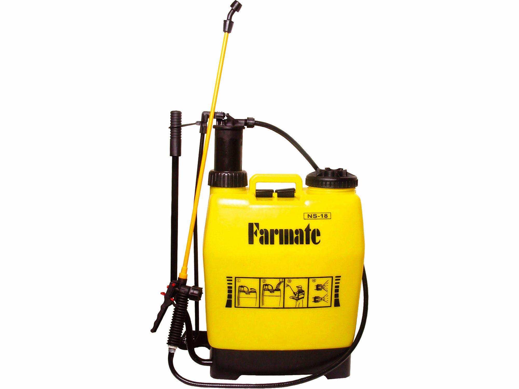 Postřikovač tlakový zahradní s průběžným pumpováním, 18l, EXTOL CRAFT