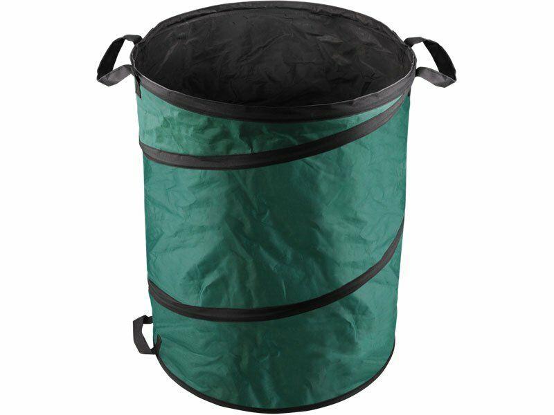 Koš skládací na listí a zahradní odpad, 55x72cm, 170L, 3 držadla, PE EXTOL-CRAFT