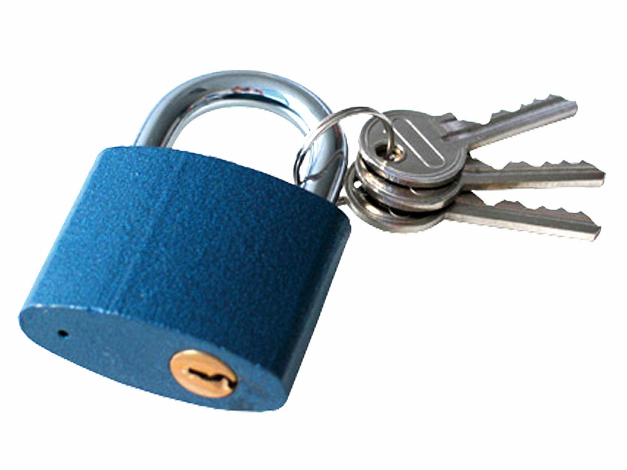 Fotografie Zámek visací litinový, 45mm, 3 klíče, EXTOL CRAFT