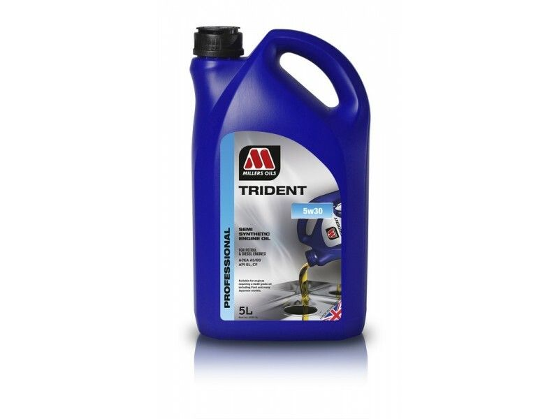 Millers Trident 5w30 5l MILLER OILS