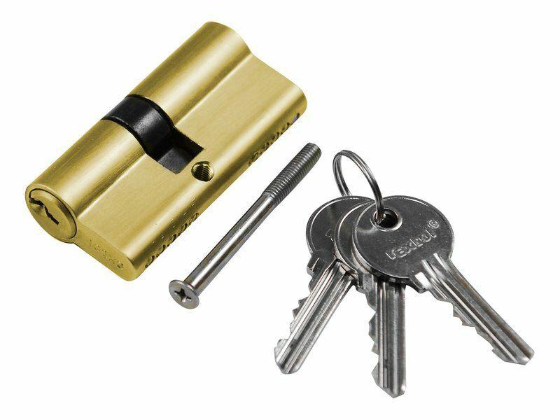 Vložka cylindrická, 65mm (30+35mm), 3 klíče EXTOL-CRAFT
