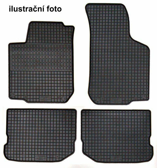 Koberce gumové přesné - Škoda Fabia III, COMPASS