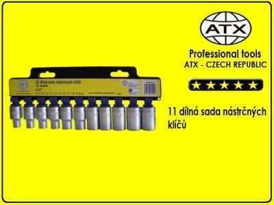 "11 dílná sada nástrčných klíčů 1/2"" - ATX"