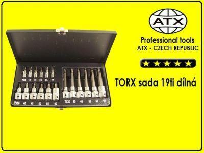 Torxi - sada 19 dílů - ATX