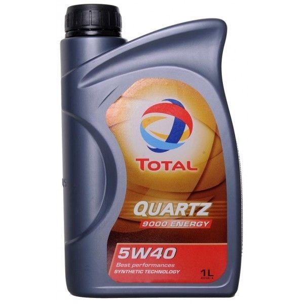 Motorový olej Total QUARTZ 9000 5W-40 1L Energy