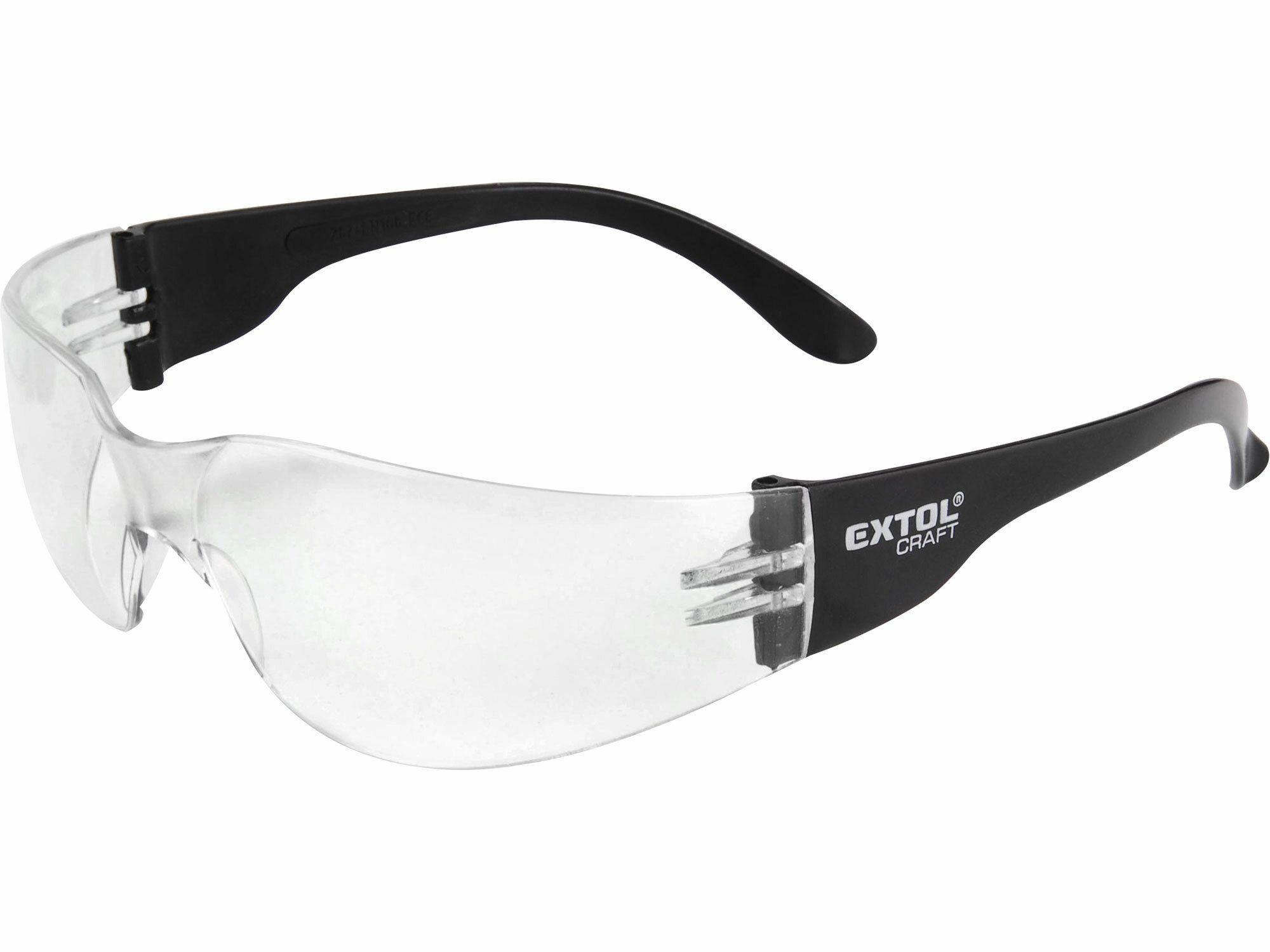 Brýle ochranné, čiré, EXTOL CRAFT 97321