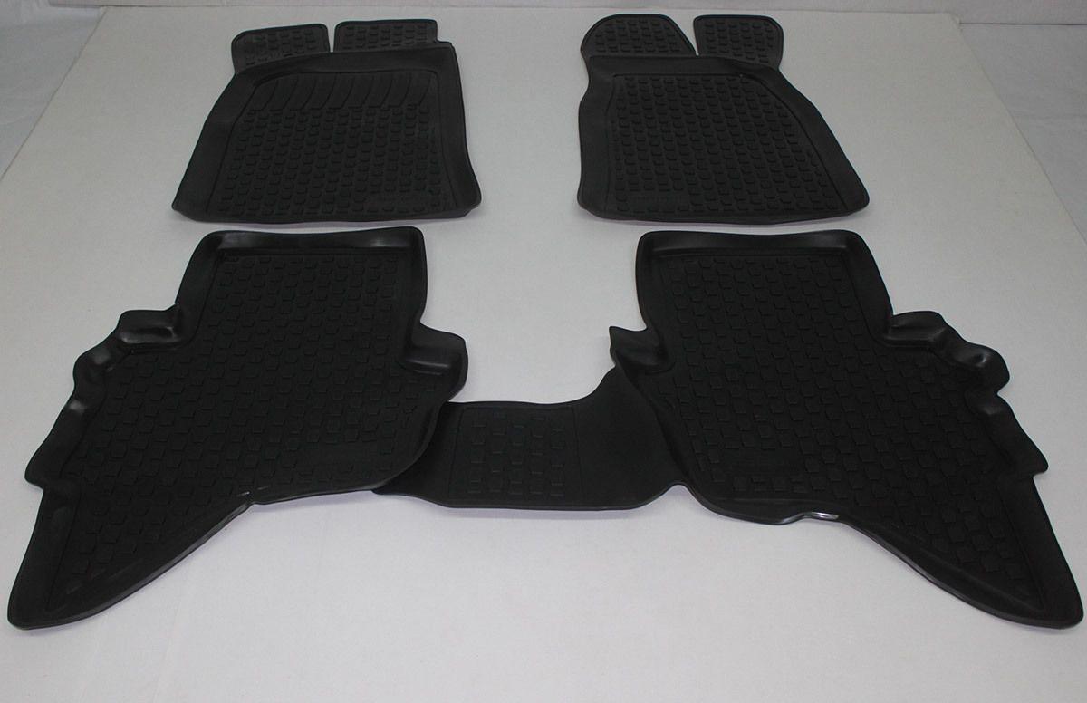 Gumové koberce Ford Ranger II (06-11)  (2D) SIXTOL
